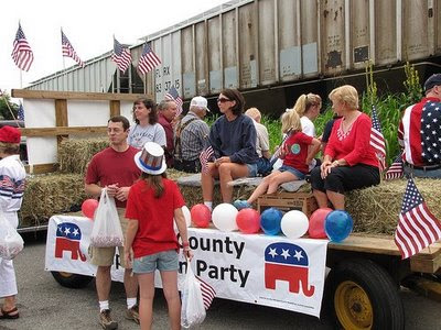 The Republican float in the 2009 Territorial Days Parade, July 4, 2009