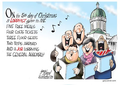 The Lobbyist Days of Christmas