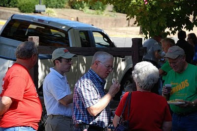 2010 Tailgate with the Candidates, Phil Smith for County Council District 1, John Evans for Circuit Court Judge, Gary Davis for County Council District 2