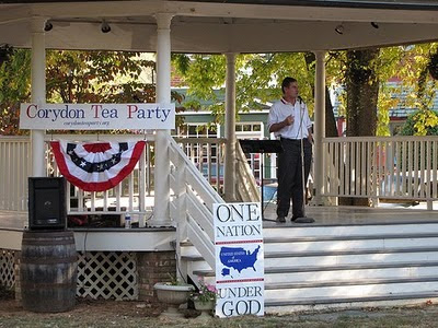 2010 Corydon Tea Party, Indiana State Treasurer Richard Mourdock