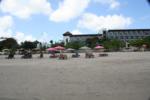 is side past times side to the Kuta Beach in the North Beaches in Bali: Legian Beach Bali