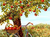 """Ada Bekas Bacokan Di Tubuhku, "" Cerita Si Pohon Apel"