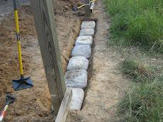 quickcrete boulders