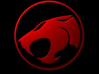 Thundercat  on Moni Harrion  3d Thundercats Logo  Metallic