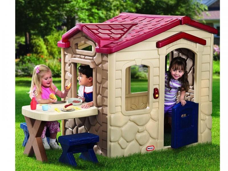Домик для детей своими руками уличный фото