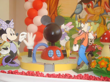 Linda casa do Mickey