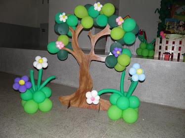 Árvore de Balões