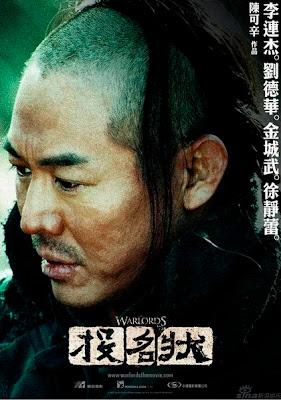 جت لی در فیلم The Warlords