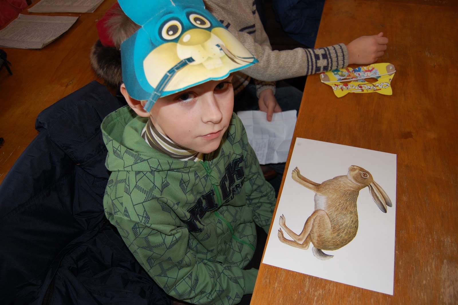 Готуючись до конкурсу діти читали