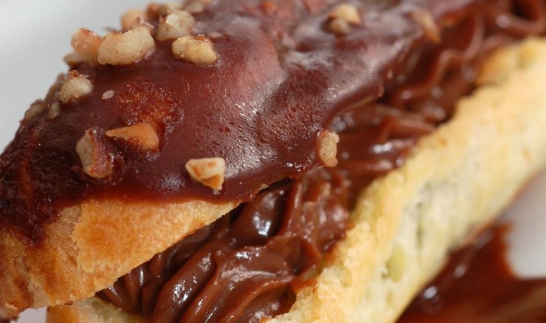 Sugar & Spice by Celeste: Chocolate Mocha Eclairs - Pierre ...