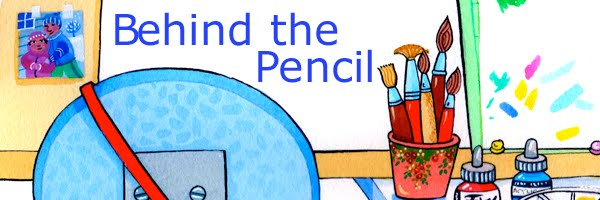 Behind The Pencil...