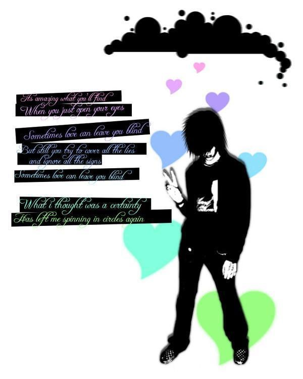 free emo love wallpapers
