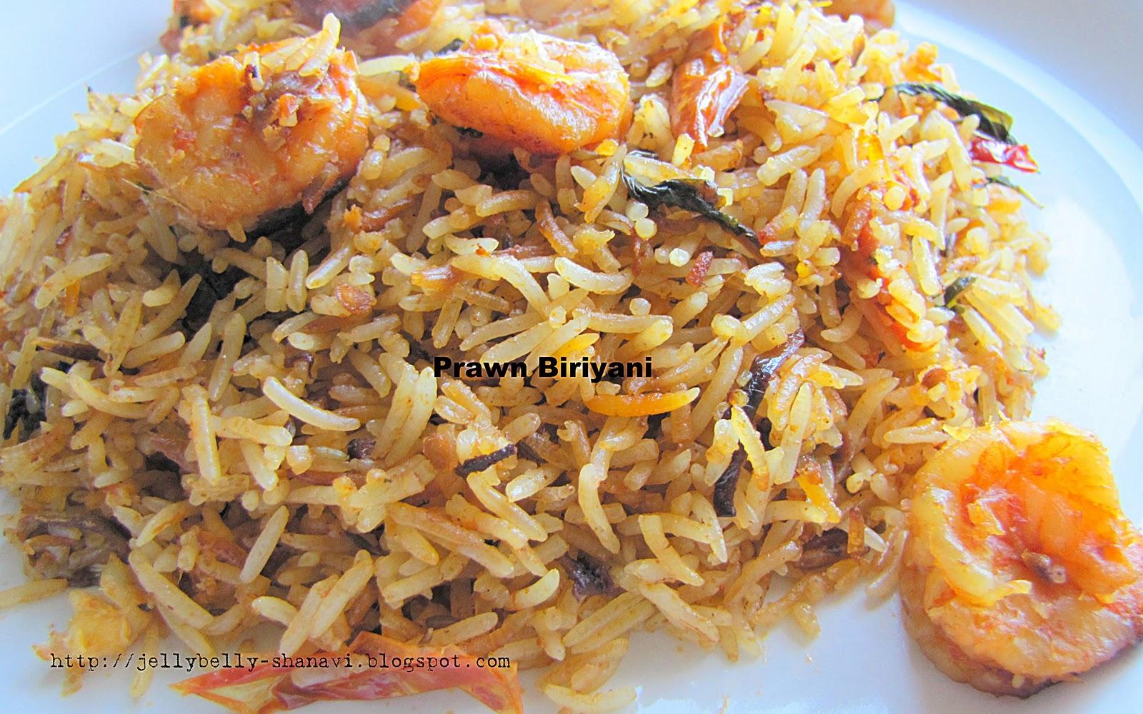 ... Secrets and Snippets: Hyderabadi Prawn Biryani / Prawn Dum Biriyani