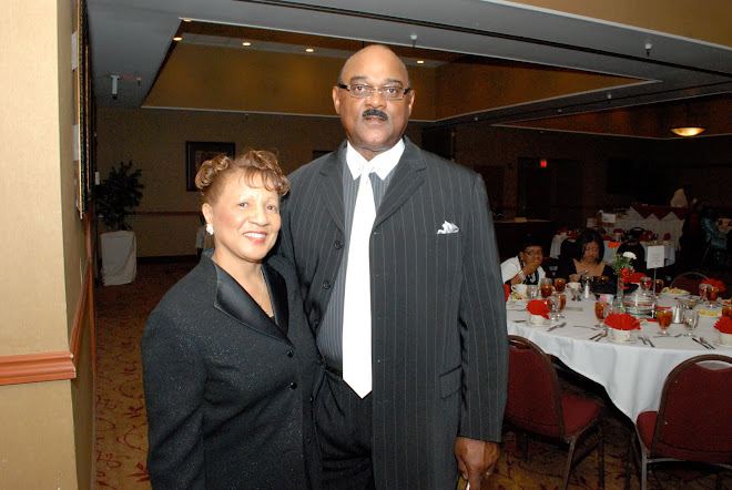 Rev. Ozetta Kirby and Husband Prentiss Kirby-NAACP Banquet 2009