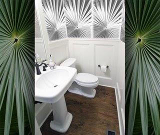 Custom Wallpaper Project: Decorating the Powder Room - Interior ...
