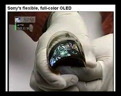 Flexible Sony OLED