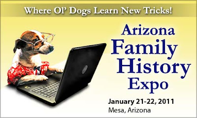See You at the Arizona Family History Expo sassy jane genealogy