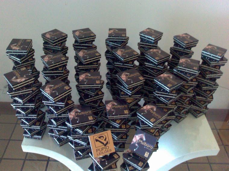 200 caixas Leilao Malboro -Rio