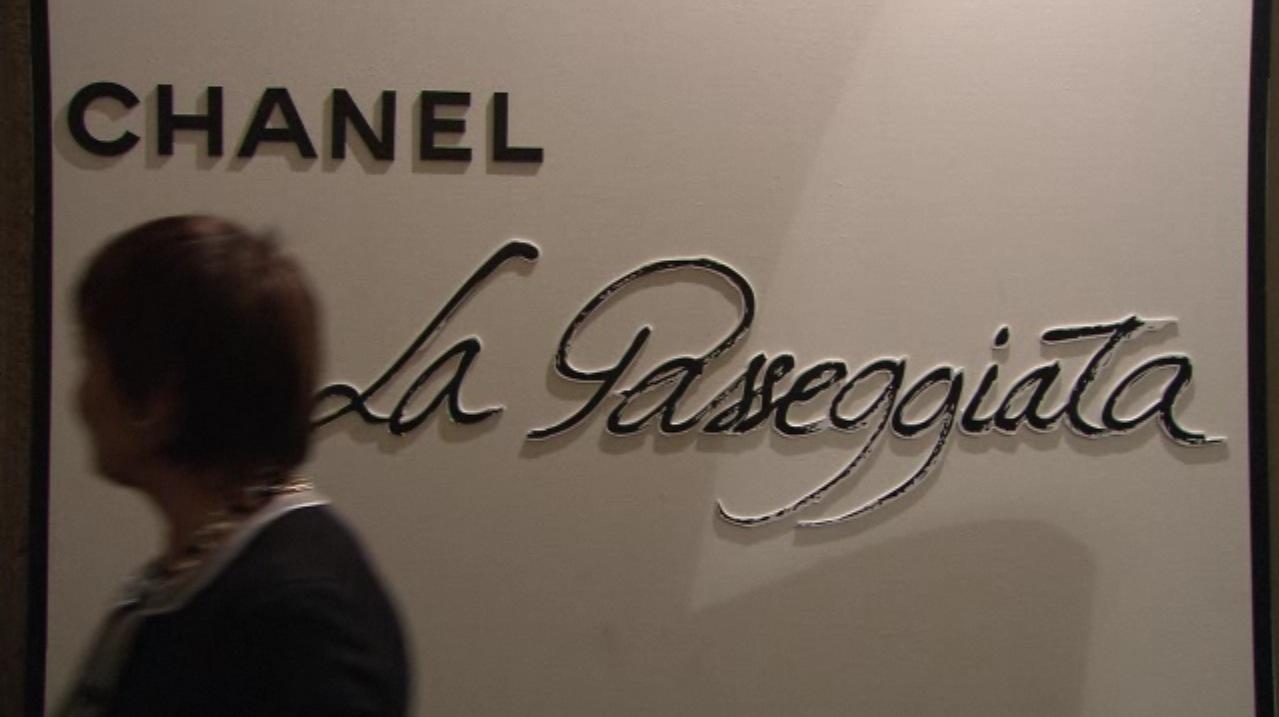Luxo simples assim chanel la passeggiata em milano for Chanel milano boutique
