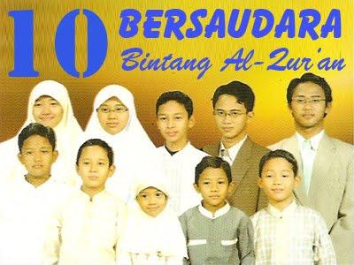 10 Bersaudara Penghafal Al-Quran dari Indonesia