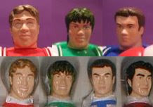 Henshin grid actor 39 s faces in power rangers toys for Domon kingdom