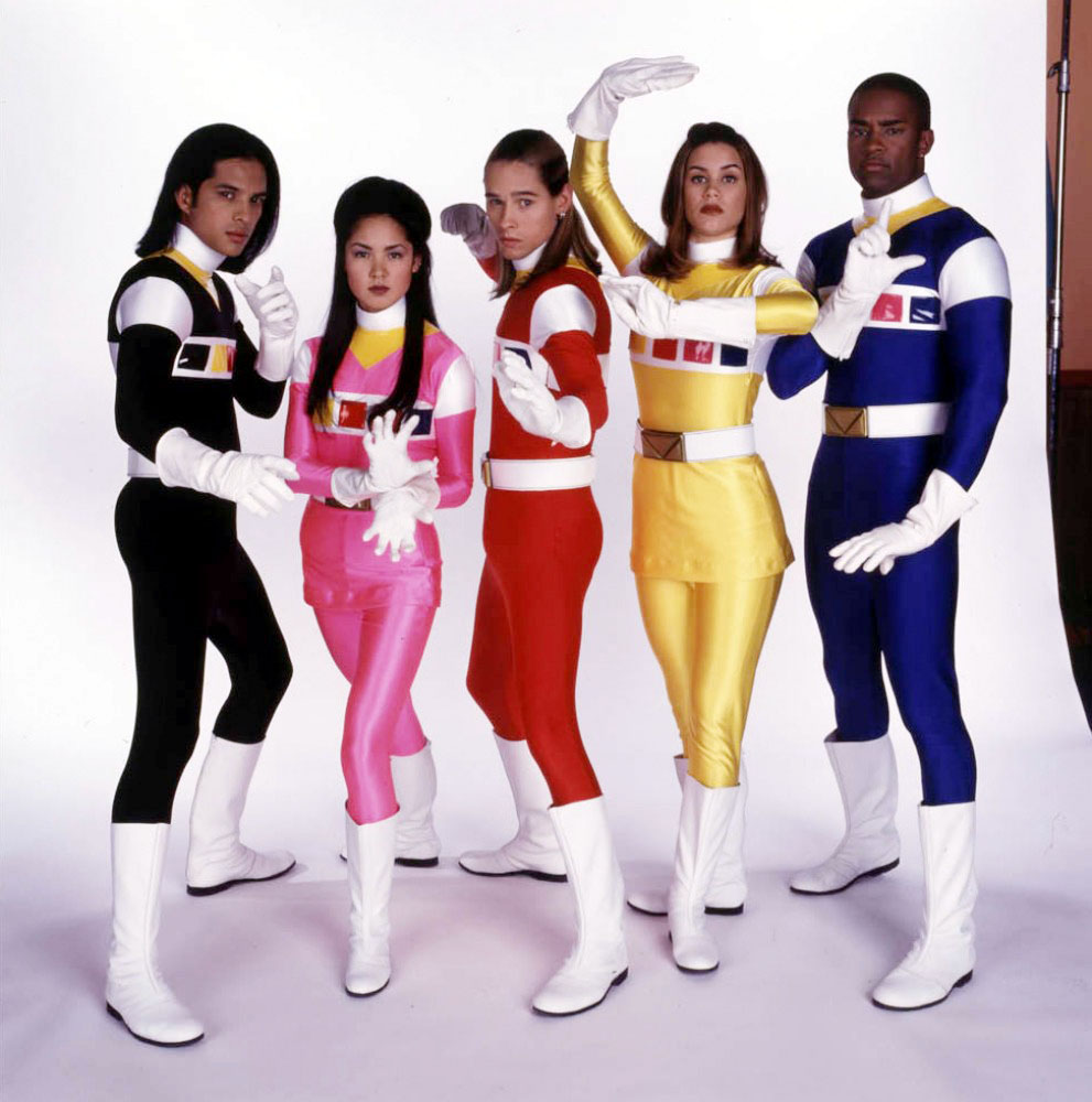 girls of power rangers
