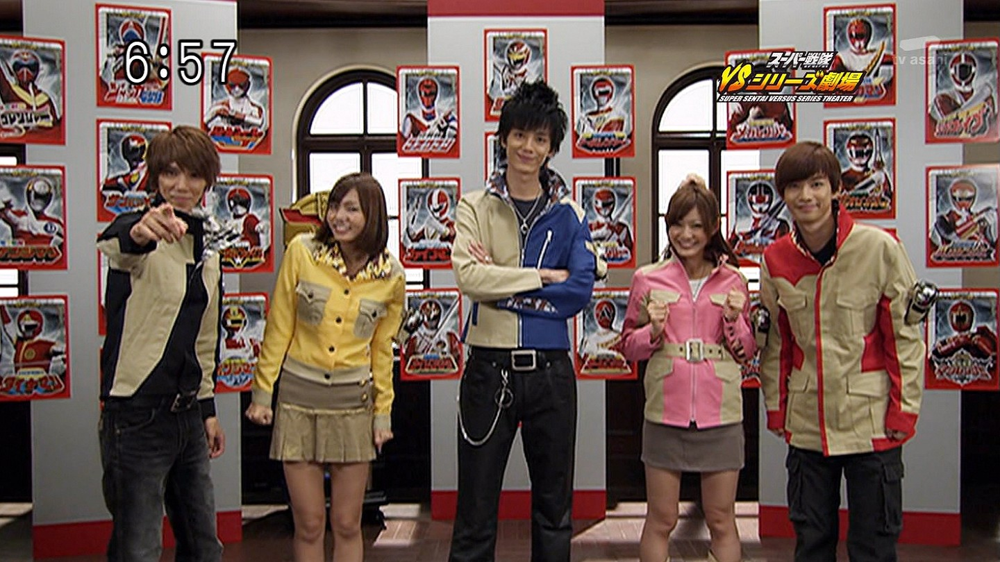 Henshin Grid: Goseiger as past teams