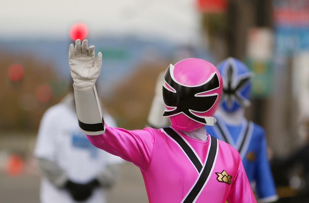 Henshin Grid More Power Rangers Samurai In Public