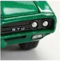 Marks Diecast M2 Machines Drivers Release 2 1969 Pontiac GTO Metallic Grass