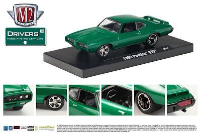 Pontiac Diecast M2 Machines Drivers Release 2 1969 Pontiac Metallic Grass Sales Sheet