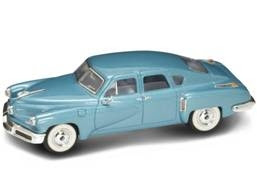 Marks Diecast Yatming 43201 1-43rd Scale 1948 Tucker Torpedo Blue