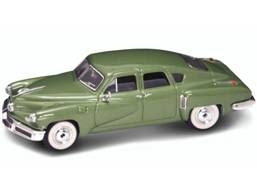 Marks Diecast Yatming 43201 1-43rd Scale 1948 Tucker Torpedo Green