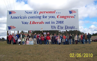 Patriot Nation We The People Billboard