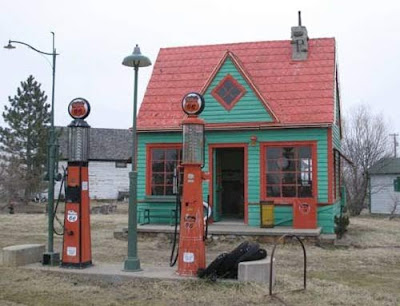 Old Gas Stations Phillips 66