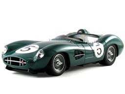 Shelby Collectibles Diecst 59AM01 1959 Aston-Martin DBR 1 No.5 1/18th Scale Green