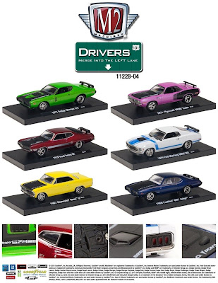 Diecast Cars  M2 Machines Drivers Release 4  Link To Marks Diecast Cars Main Page