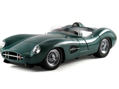 Shelby Collectibles 59AM04 1959 Aston-Martin DBR 1 Green