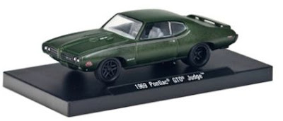 1969 Pontiac GTO Judge Medium Green Primer