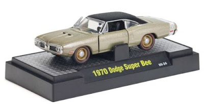 M2 Machines Detroit Muscle Release 8 1970 Dodge Super Bee Light Gold Metallic