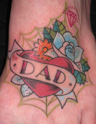 Mom and Dad Tattoos dad tattoos