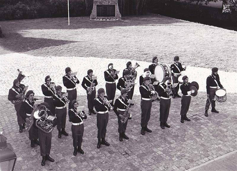 Fanfarekorps der Genie 1976