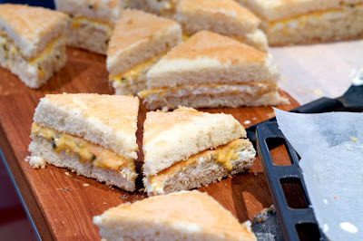 leivoksia kuorruttamatta