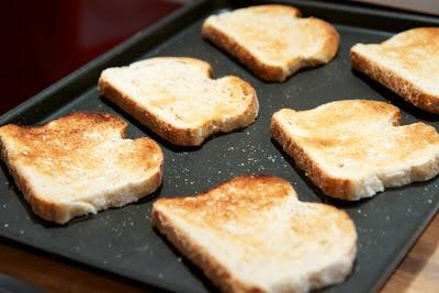 maalaishyvä, paahdettu leipä