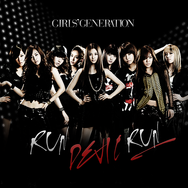 Girls' Generation-Run Devil Run Japanese Fan Made Single Cover!