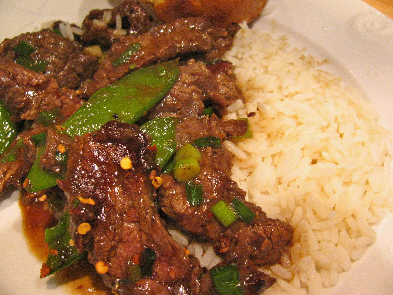 Rita's Recipes: Beef with Snow Peas
