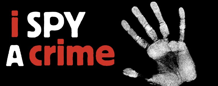 I spy a crime - a blog from the charity Crimestoppers