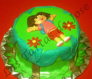 Tarta de Dora la exploradora. Las tartas de Jose. Castellón.
