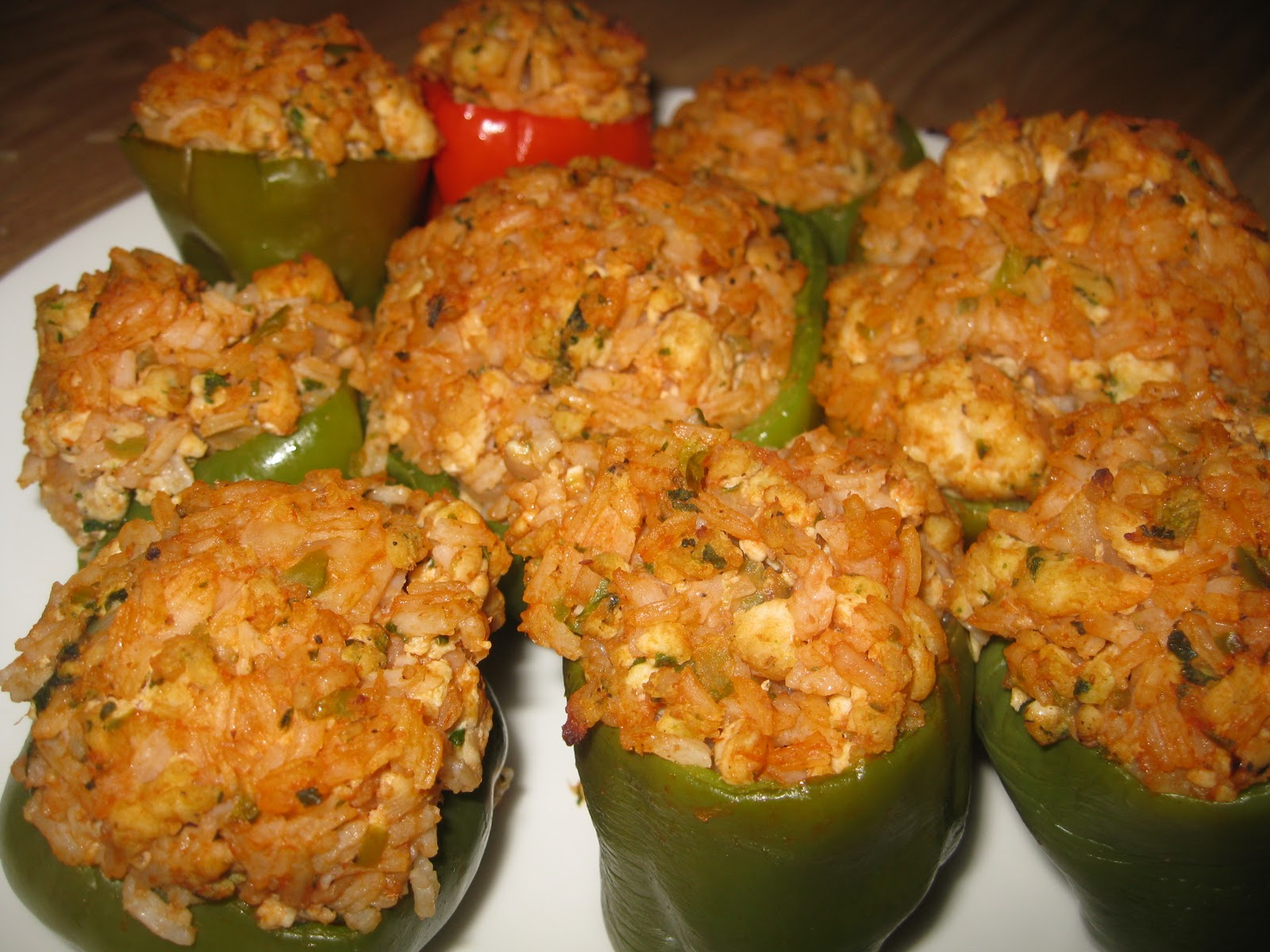 Nana's Recipe Box: Stuffed Bell Peppers