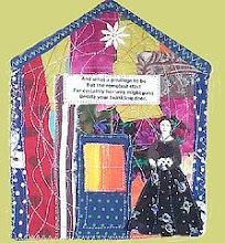 Thing #5 Emily Dickinson in a quilt