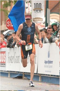 Boise Ironman 70.3 Finish